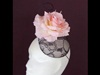 Edel Staunton Millinery Pink Rose